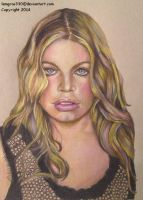 Fergie ~ Black Eyed Peas by lemgras330