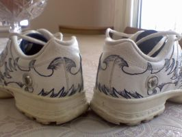 tattoo shoes 1 by ElizzaBeast