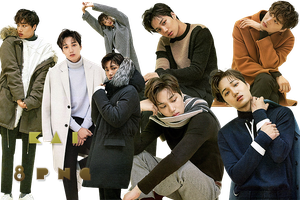 EXO Kai PNG Pack {High Cut} by kamjong-kai