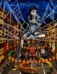 Silk above Chinatown by MarioUComics