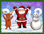 Exoro Choice's Christmas Wishing Cards 06 by ExoroDesigns