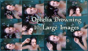 Pack: Ophelia Drowning by Spiteful-Pie-Stock