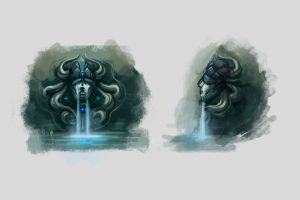 UTMC-fountain concept by CriAnn