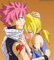 Natsu and Lucy FT by Kang1223