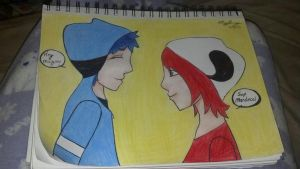 Mordecai and Margret by BlackDaffodil23