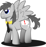 Gray Pegasus number 2 by MidnightQuill