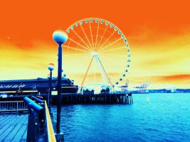 The Great Wheel Colorized by Scorpion31