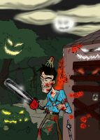 the Evil Dead by theEyZmaster