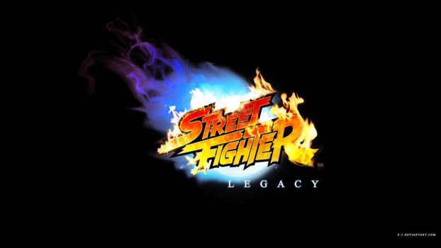 Street Fighter Legacy Logo by F-1