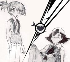 Ash + Misty equals LOVE by FaisLittleWhiteRaven
