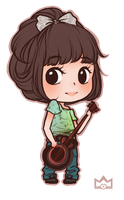 Thea: Commission Chibi by lovenotestudios