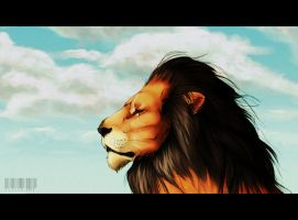 After Mufasa's death by Elezar