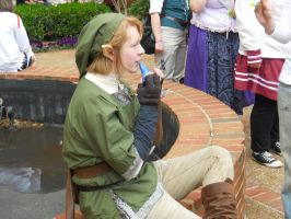 Eznahc cosplay as Link by Xancholis