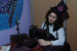 Seamstress 1 by Anna-LovelyMonster