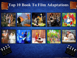My Top 10 Book to Film Adaptations by J-Cat