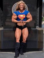 Danielle SuperGirl Arms by Turbo99