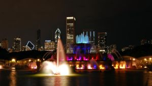 Buckingham Fountain by maxlake2