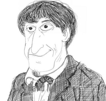 Troughton Quick Drawing by davidnagel