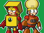 HEATMAN and BRIGHTMAN by PIK-YA