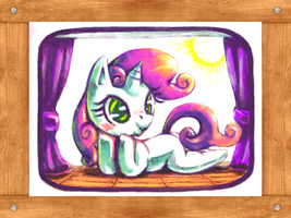 SweetieBelle in DS paint tool by Usappy-BarkHaward