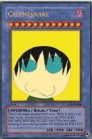 Worlds Greatest Yugioh Card by Callmesnake