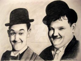 Laurel and Hardy by ParadizeLily