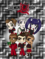 Daemon High Students by NanaRamos