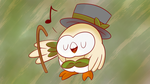 Dapper Rowlet by XRallenX