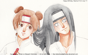 Happy Birthday Neji-kun by DavidPan