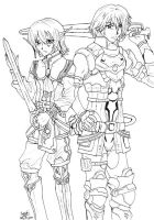 Faize n Edge Line-Star Ocean 4 by kojika