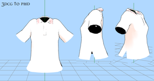 MMD  -Shirt -DOWNLOAD by MMDFakewings18