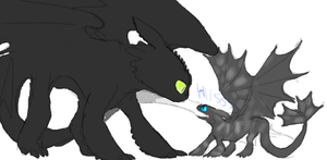 Confuzzed Toothless by Ask--Toothless