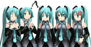 .: Rondline Miku :. [DUE'S EDIT] by Duekko