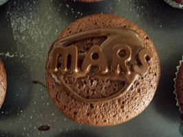 MARS cupcakes 2 :D by A-chanx3