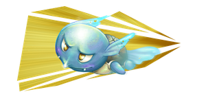 Wartortle uses Skull Bash by a-barbosa
