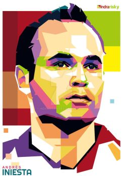 iniesta WPAP by IndraRisky