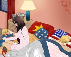AmericaXVietnam (( anndd future child )) by Jessica-chii