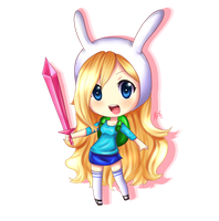 Fionna -Commission- by HappySmileGear