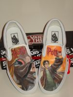 Harry Potter Shoes by PhoenixBlood09