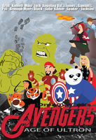 DreamWorks Avengers: Age of Ultron by thearist2013