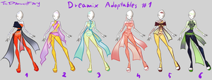 [SOLD] Dreamix Adoptables #1 by TheDamnedFairy
