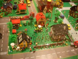 Lego Village 3 by V-kony