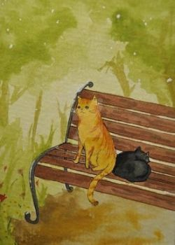 ACEO 224 At the Park by Unpassend