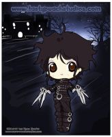 Edward Scissor Hands by MoogleGurl