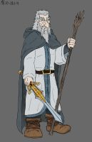 Gandalf the White by Mara999