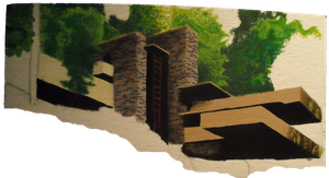 Fallingwater WIP by PriorKnight