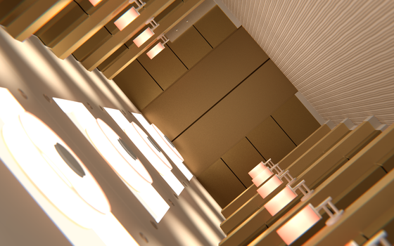 Blender Inception Hallway by bryansvt92
