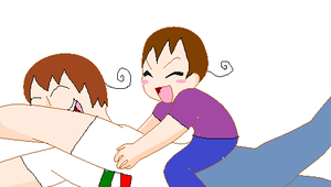 Bella tickles Italy by scarlet100