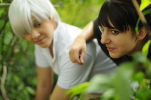 Homies - Mushishi cosplay by KC-HOME