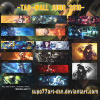 Junio tag-wall by Supo77Art-Dsn
